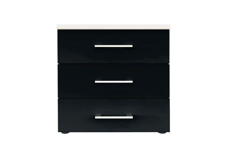 3 drawer bedside - Spectrum 5 - Bedroom Furniture   Beds   Furniture Village