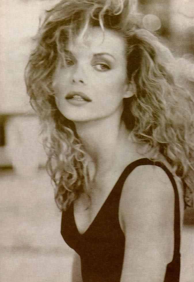 Michelle Pfeiffer. Let your worries curl and furl away.