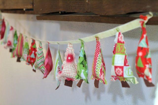 Christmas Tree Garland - So Sew Easy