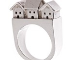 I think this ring is cute, a nice village on a little ring.