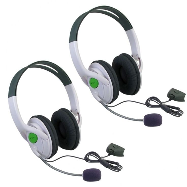 Insten Xbox 360 - Headset with Microphone Slim