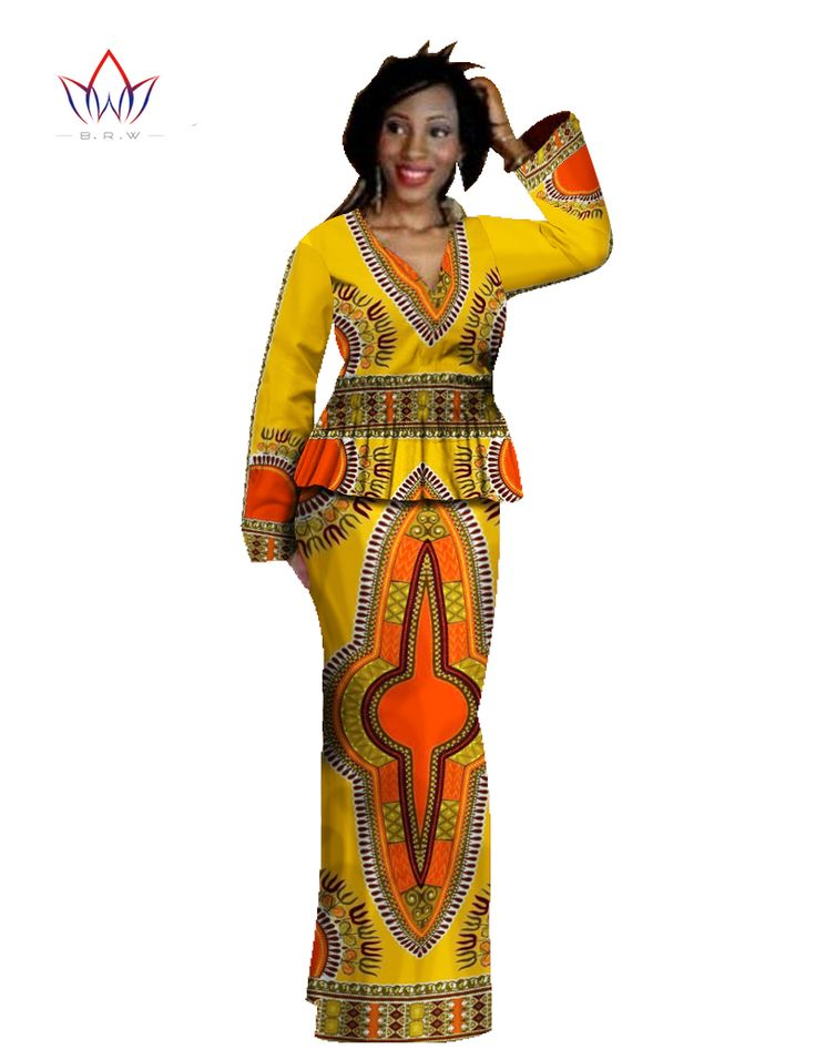1000 Images About African Print 2 Piece Outfit On: African Skirt Set 2 Piece Set Women Dashiki Dress Bazin