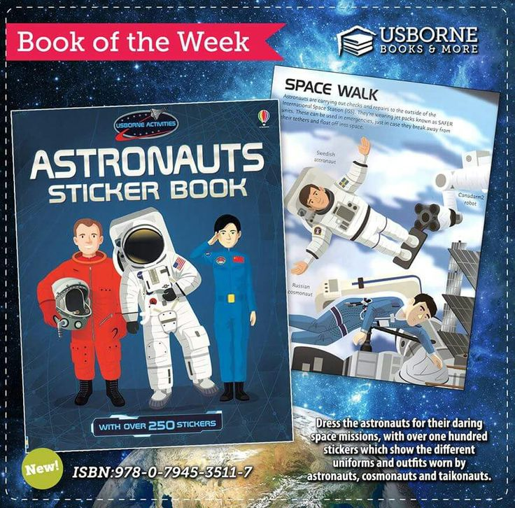 Dress the astronauts for their daring space missions  with over one hundred  stickers which show the different uniforms and outfits worn by astronauts. 153 best Usborne Books images on Pinterest   National days  Book