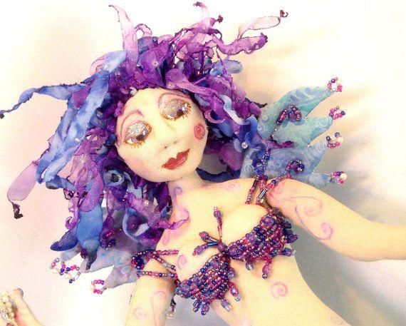 Pattern E PATTERN TARJA Gorgeous Mermaid by michelledolls on Etsy, $11.00