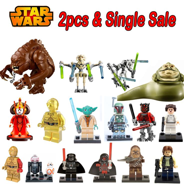 Star Wars General Grievous Jabba Königin Padme Amidala C3PO Darth Vader Yoda Han Solo legoing Fakten Bausteine Kinder Spielzeug