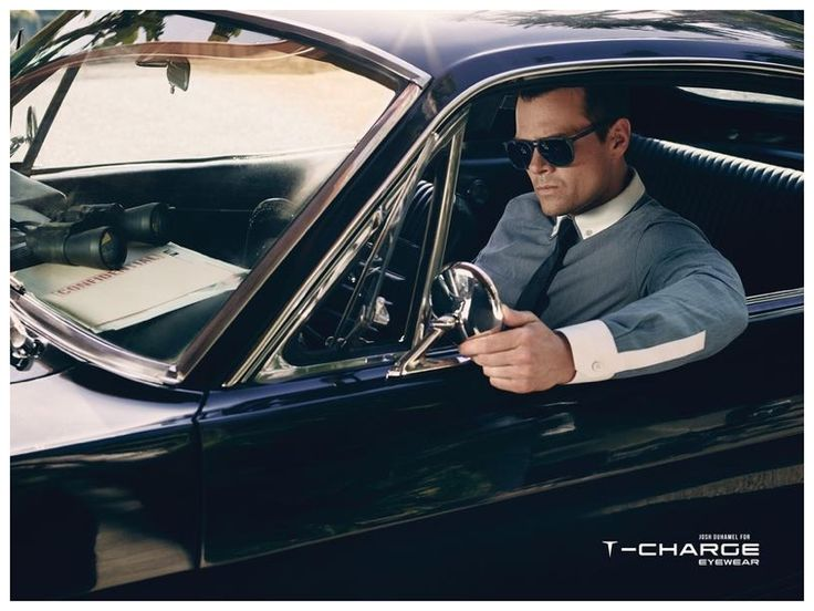 Josh Duhamel Rocks Shades & Optical Eyewear for T Charge 2014 Campaign image Josh Duhamel T Charge Eyewear Campaign 001