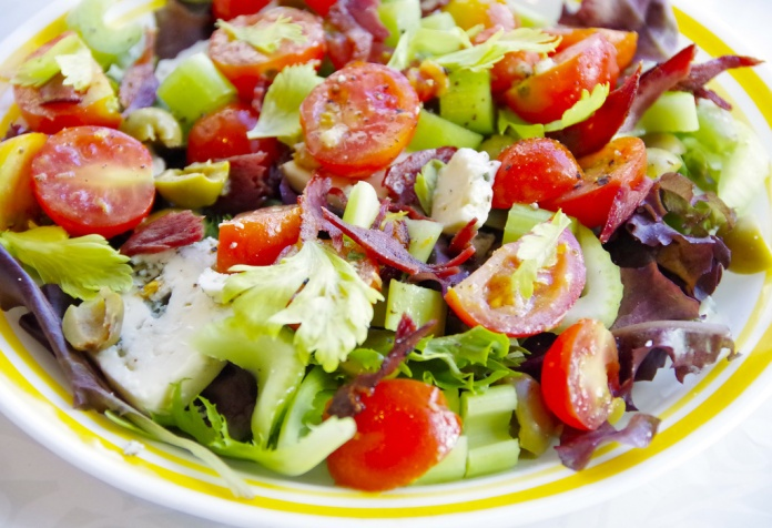 Bloody Mary Salad | Healthy eating | Pinterest