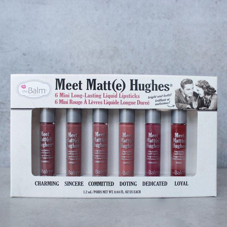 theBalm cosmetics - meet matte hughes kit 0.04 fl. oz.
