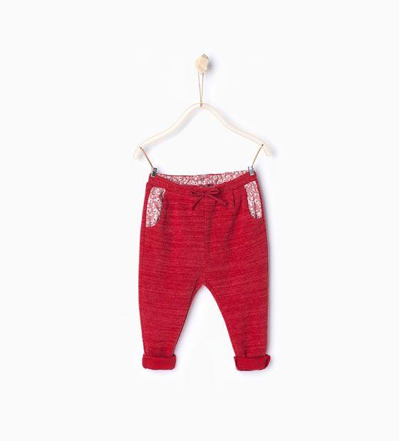 ZARA - KIDS - Textured trousers