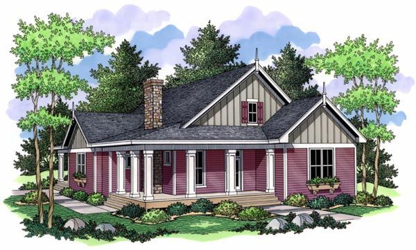 House Plan 42504 | Cottage Farmhouse Ranch Traditional Plan with 1811 Sq. Ft., 3 Bedrooms, 2 Bathrooms at family home plans