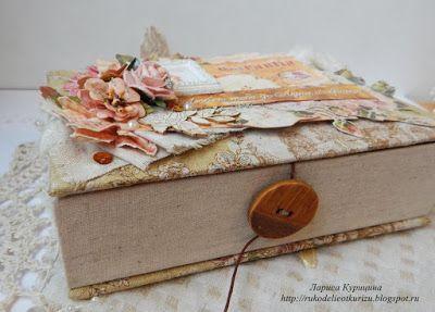 C.h.e.a.p.-art: Вдохновение от ДК. Лариса Курицина: шкатулка для любимой