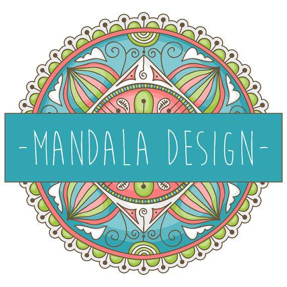 Mandala Logo Gypsy Logo Premade Logo by ...