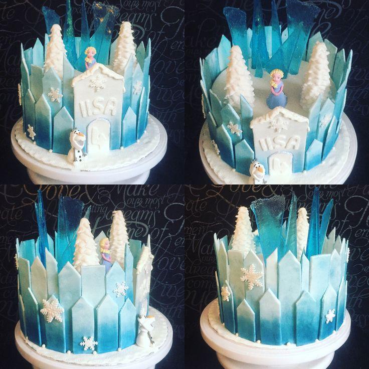 Frozen, frozencastle, frozencake