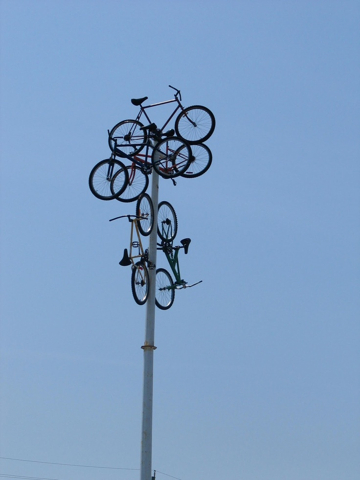 """""""Bicycles on a Standard """" Manitouwadge, Ontario"""