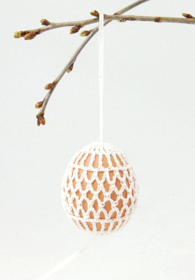 Crochet Easter Egg Holder