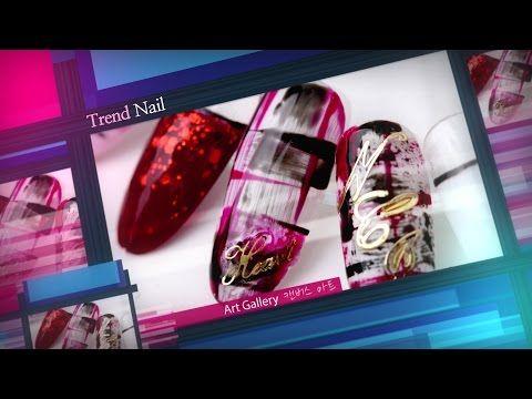 @pelikh_[Saracen Trend Nail] 사라센 트렌드네일 3회 캔버스 아트 / Trend Nail Ep.3 : Canvas Art - YouTube