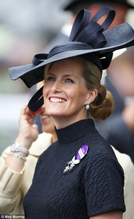 Royal Ascot Day 3: Ladies Day - Glamorous: Sophie Wessex was elegant in an all black ensemble