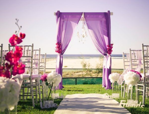 5 Fabulous Garden Wedding Arch Decoration Ideas