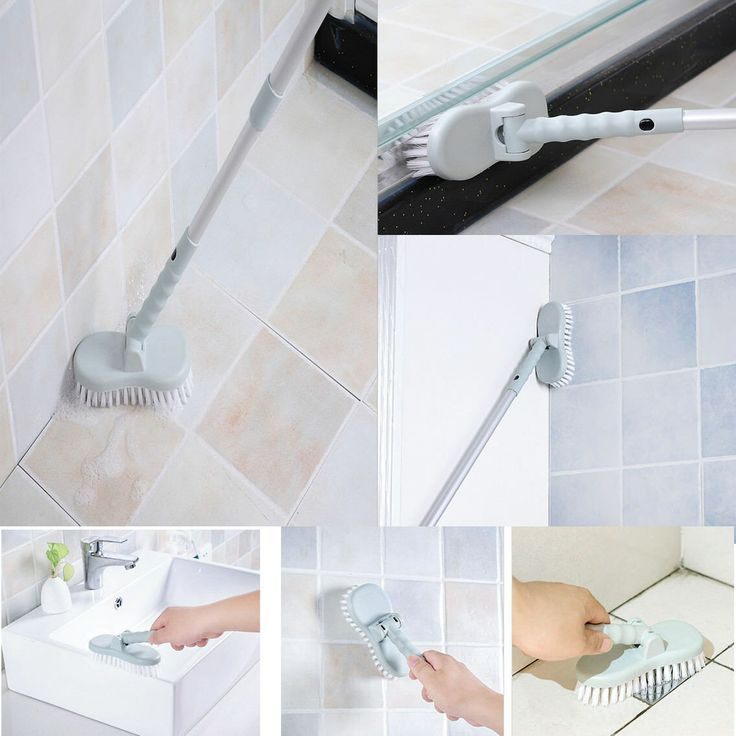 Badezimmer Lang Griff Burste Wand Boden Schrubben Badewanne