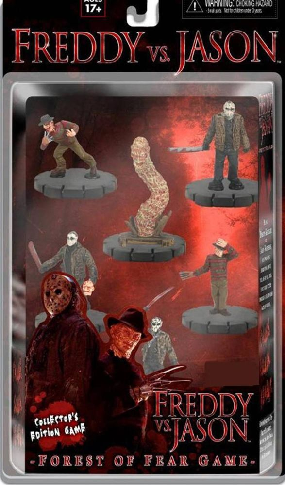 Freddy VS. Jason Forest of Fear Game Collector's Edition Game