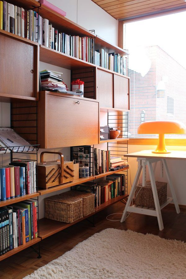 #homeoffice mid century modern house in finland