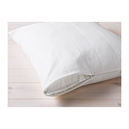 IKEA - ÄNGSVIDE, Pillow protector, King, , You can prolong the life of your pillow and protect against stains and dirt with a pillow protector.A good choice if you are allergic to dust mites since the protector is machine-washable at 140°F (Hot), a temperature that kills dust mites.