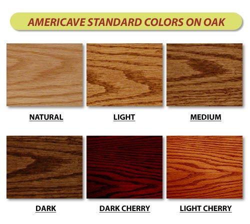 Oak Color Wood