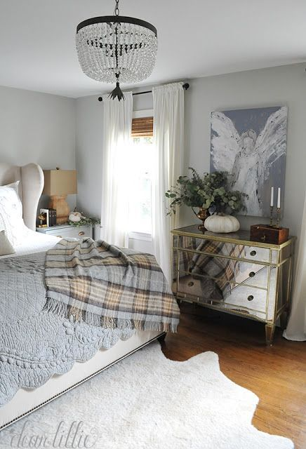 Simple Fall Touches to our Master Bedroom and Bathroom