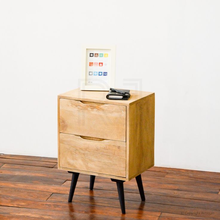 Buy Gianne Danish Inspired Designer Bedside Table | Side Tables – Retrojan