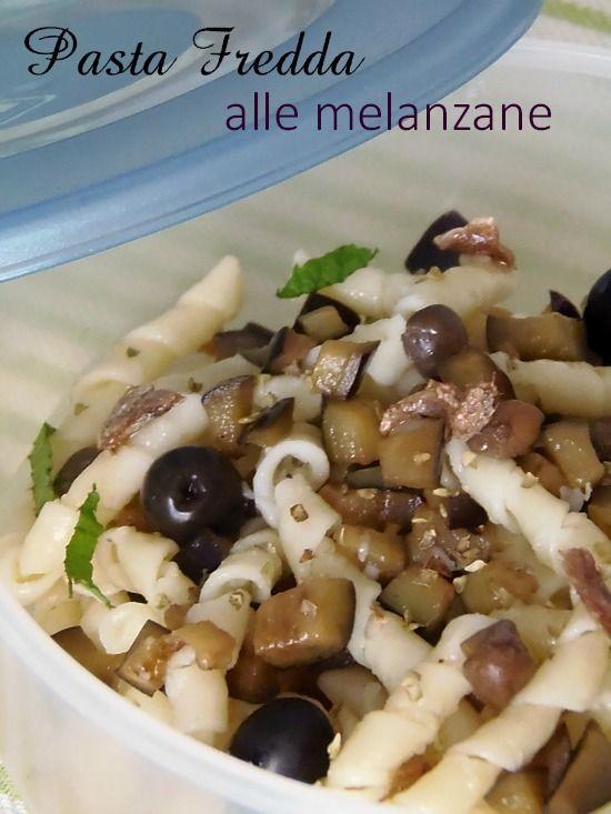 Ricetta Pasta fredda alla Siciliana-Ricetta da portare in spiaggia