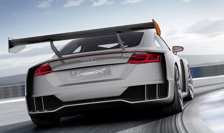 The Audi TT Clubsport Turbo Concept