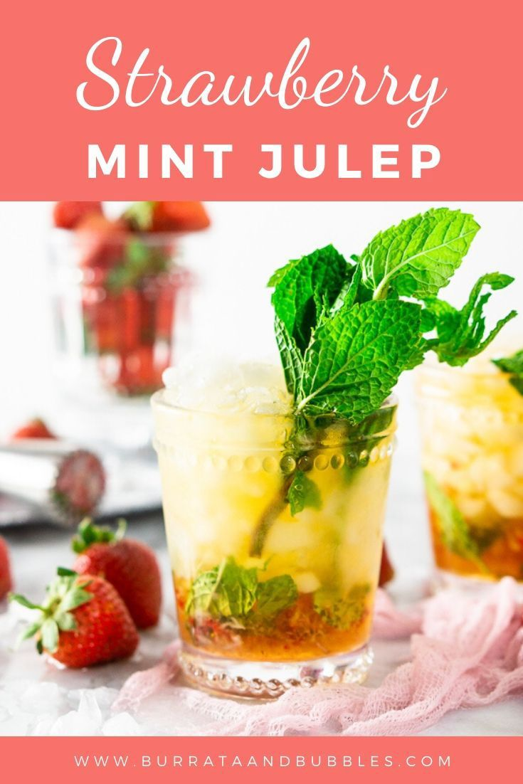 Jun 19, 2020 – Love a good bourbon cocktail? This strawberry mint julep recipe is the perfect refresher when you need an…