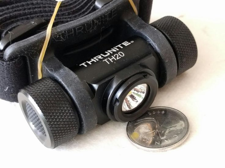 Thrunite TH20 520 Lumens Headlamp, AA and 14500, WOW!!!