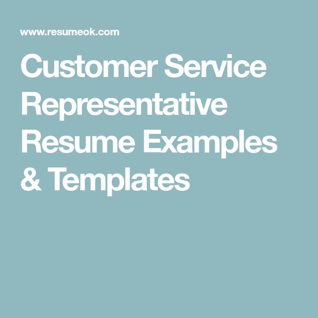 Best 25+ Customer service representative ideas on Pinterest - resume for customer service representative