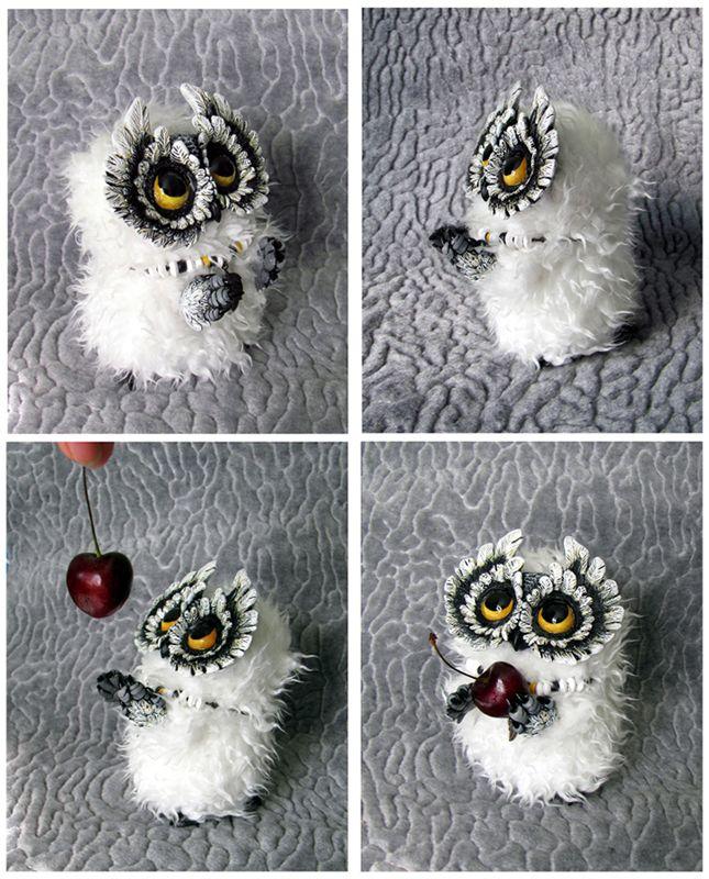 Little Owl (SOLD) by moushugah.deviantart.com on @deviantART