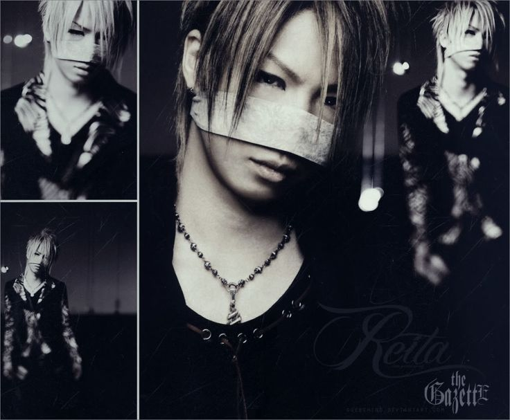 reita from the gazette,  nose band?  jrock fashion