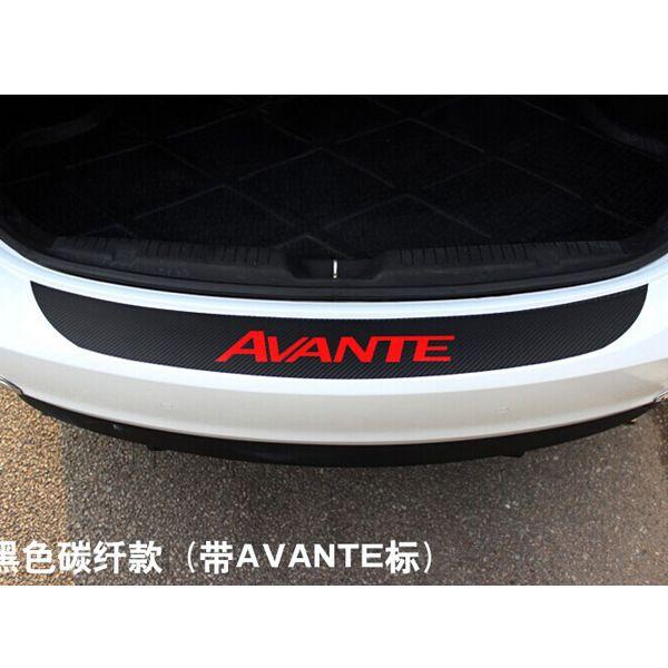 Find More Stickers Information about for HYUNDAI ELANTRA Avante Carbon fiber…