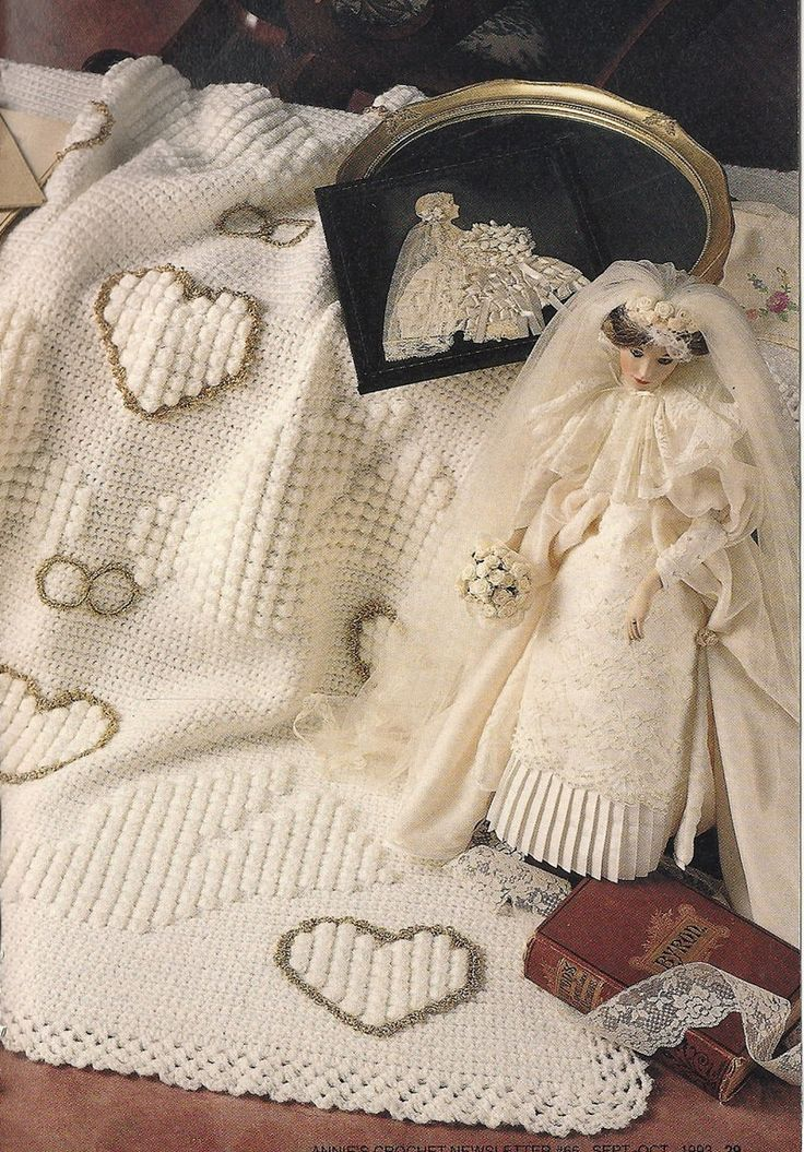 52 Best Crochet Wedding Blanket Images On Pinterest