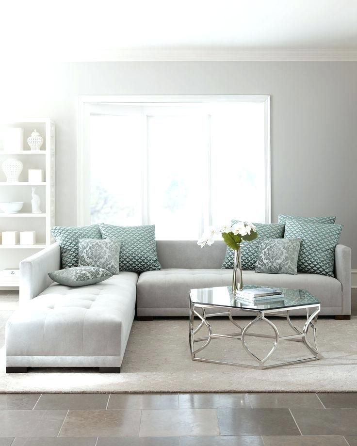 Lovely White And Grey Sofa For Beautiful Pale Grey Sofa With