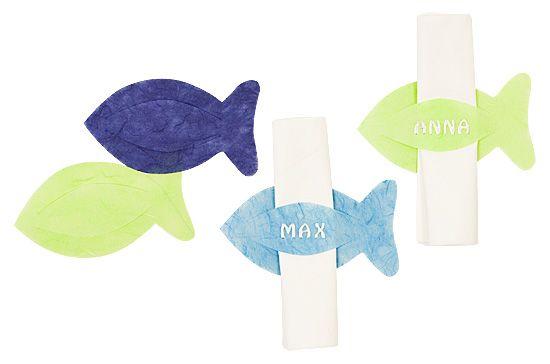 Serviettenhalter Fisch  http://www.basteln-mit-buttinette.de/basteln/3526-fisch-serviettenhalter-fuer-die-kommunion-konfirmation