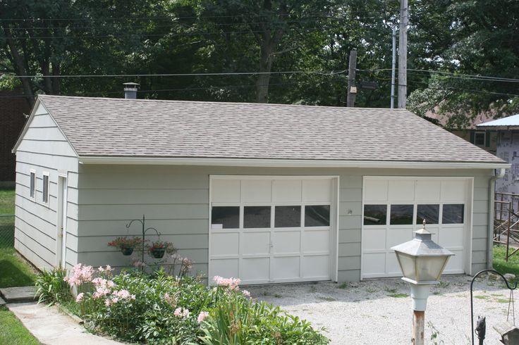 14 best home decor garage images on pinterest garages for Detached garage workshop