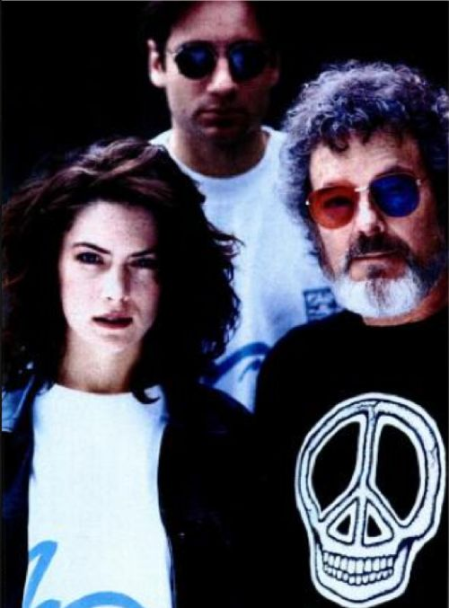 Lara Flynn Boyle, Russ Tamblyn + David Duchovny of Twin Peaks