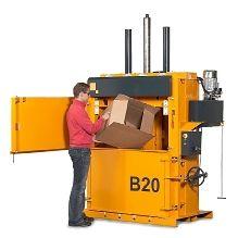Bramidan B20 Baler #recycle #cardboardbaler #verticalbaler #reducereuserecylcle
