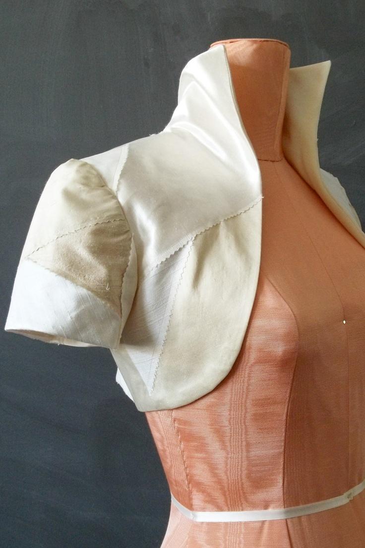 Sample SALE Eco-Bride Patchwork Short Sleeved Bolero ...