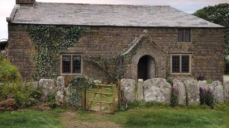 Poldark's home Nampara. The location used for this was St Breward on Bodmin Moor.