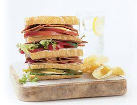 Mini Dagwood Sandwich #vegan.. . YAAYEEYAAYEE