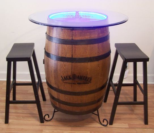 1000+ Ideas About Whiskey Barrel Table On Pinterest