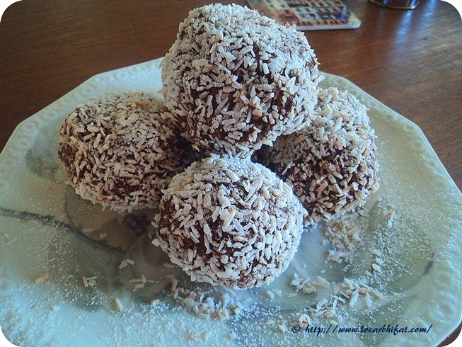 Swedish Diet - Eating Fat Makes You Skinny: Chocolate Balls LCHF