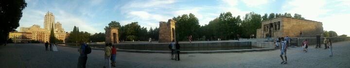 Templo de Debod, Madrid. Spain