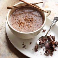 Aztec Hot Chocolate - this recipe sounds amazing.